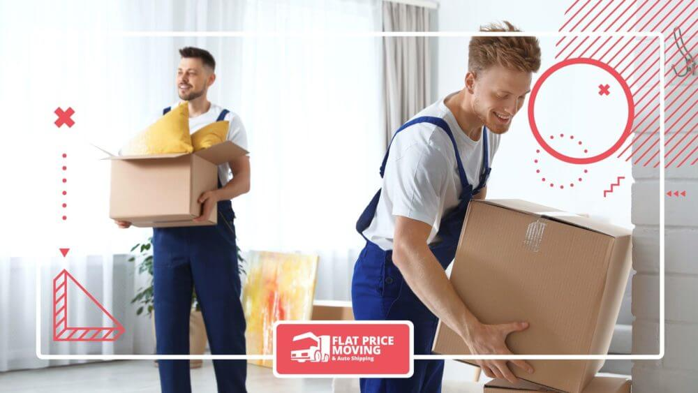 professional movers packing